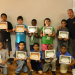 2012 Certificate Day for the No Weapon Needed Program